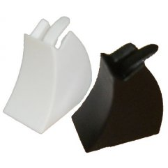 Supports Bagues Individuels pour Vitrine x 10