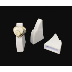 Supports Bagues Individuels pour Vitrine x 10 (604)
