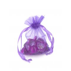 Lot de 1000 Sacs Organza 9.5 x 12.5 cm - Parmes  - CO709