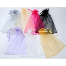 Lot de 20 Grands Sacs Organza 35 x 45 cm